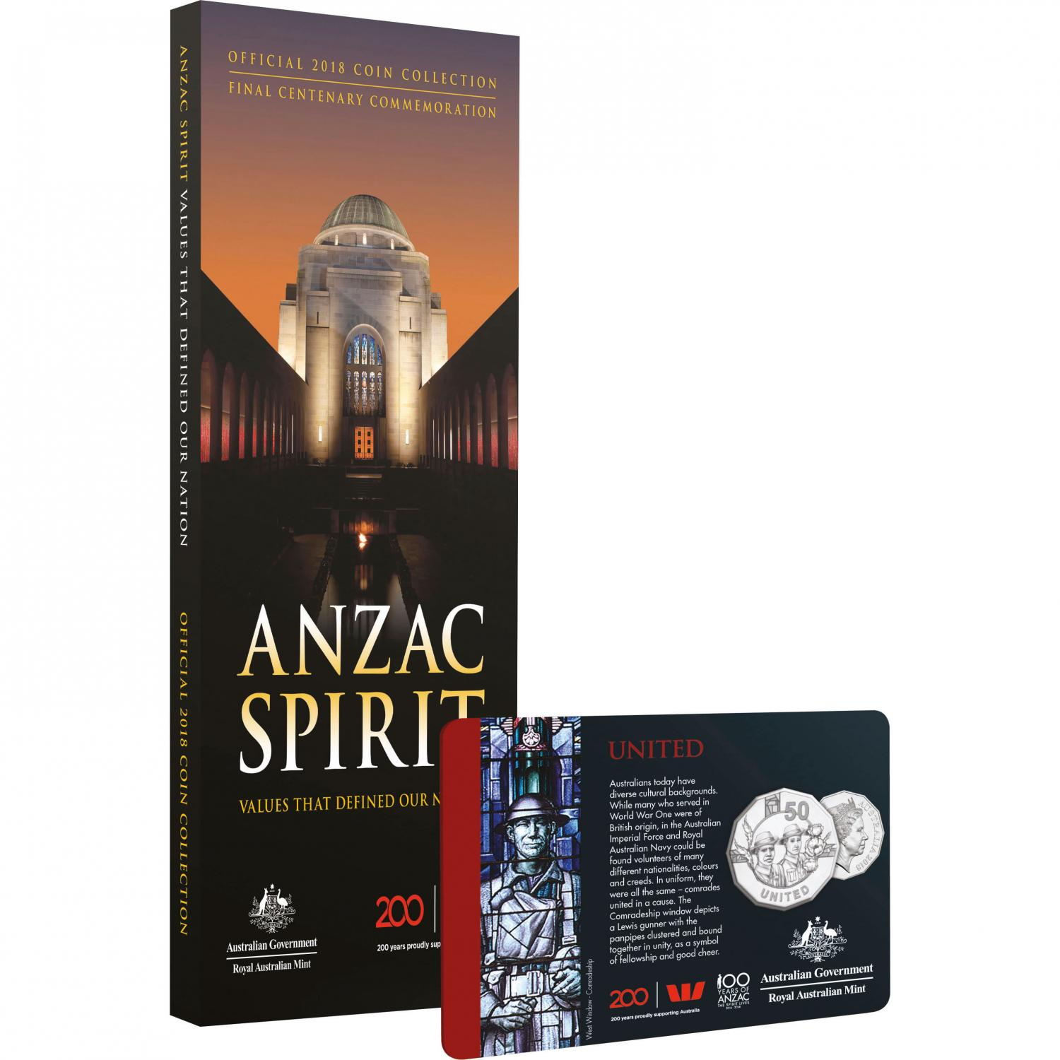 Thumbnail for 2018 Official Coin Collection Final Centenary Commemoration - Anzac Spirit