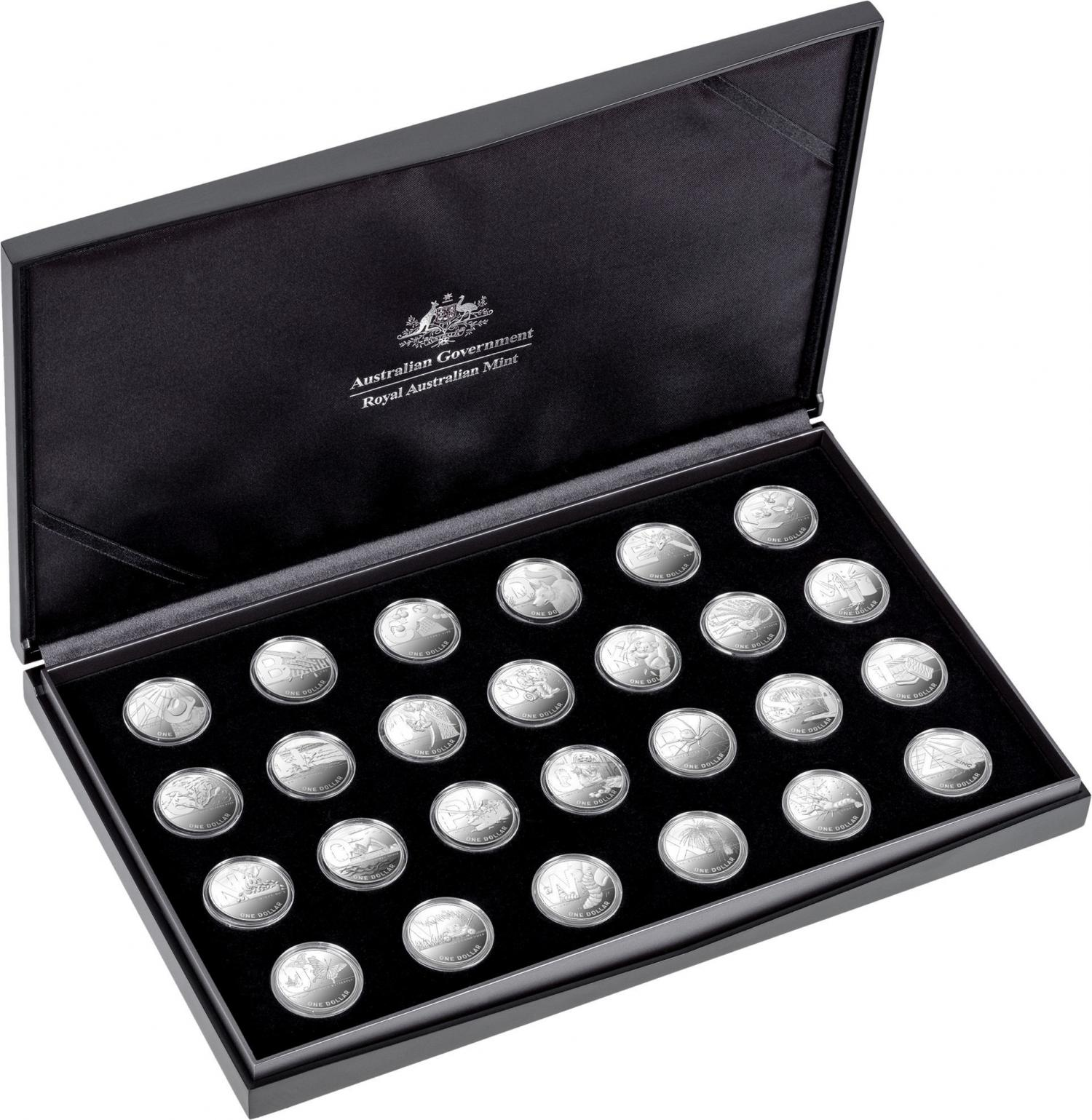 Thumbnail for 2021 Great Aussie Coin Hunt 2 - 26 Coin Silver Proof Collection