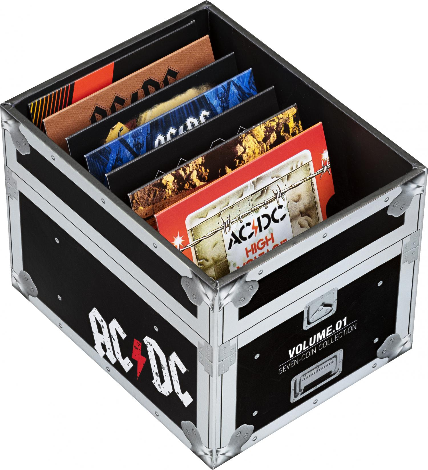 Thumbnail for 2020 2021 20c Coloured Uncirculated 7 Coin Collection with Commemorative Coin - ACDC