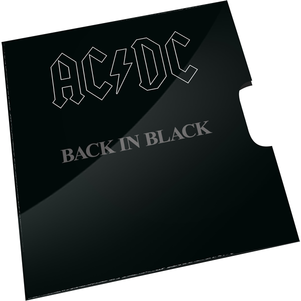 Thumbnail for 2020 20c Coloured Uncirculated Coin 45th Anniversary ACDC - Back In Black  Album Release