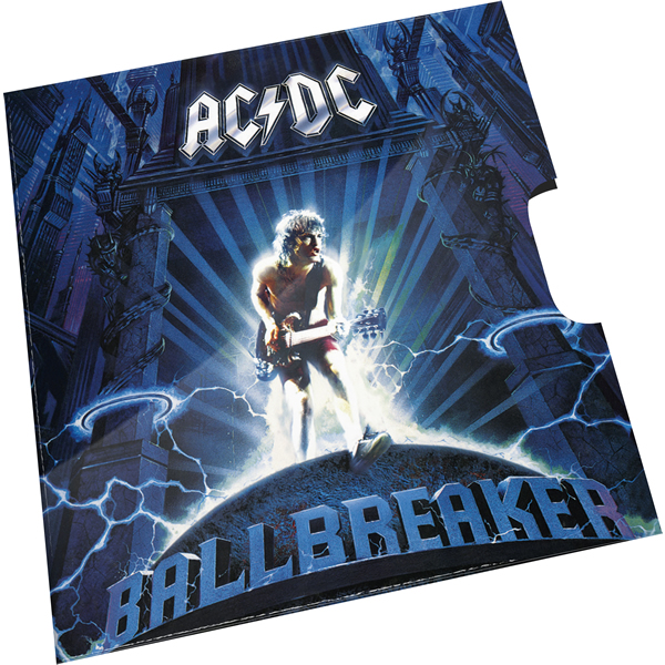 Thumbnail for 2020 20c Coloured Uncirculated Coin 45th Anniversary ACDC - Ballbreaker   Album Release