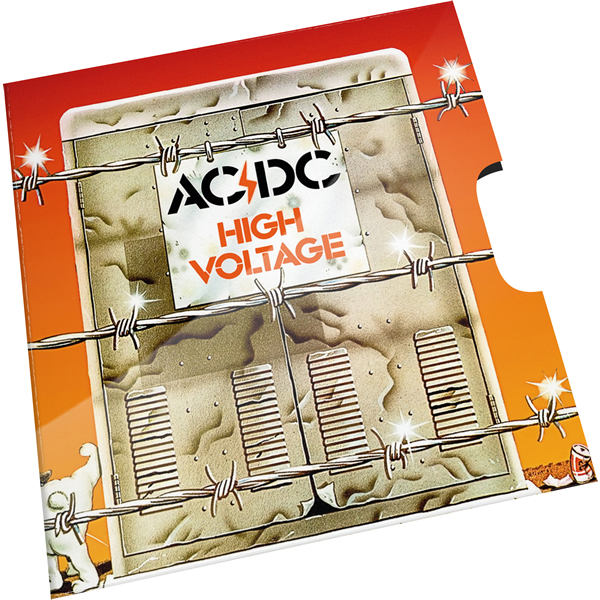 Thumbnail for 2020 20c Coloured Uncirculated Coin 45th Anniversary ACDC - High Voltage Single Release