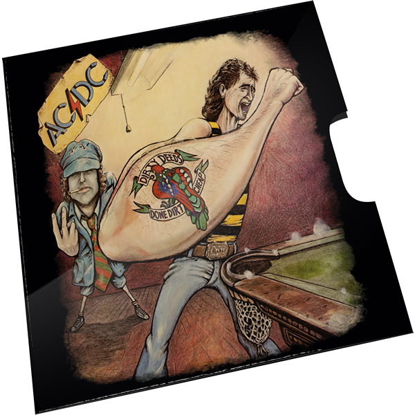 Thumbnail for 2021 20c Coloured Uncirculated Coin 45th Anniversary ACDC - Dirty Deeds Done Dirt Cheap  Album Release