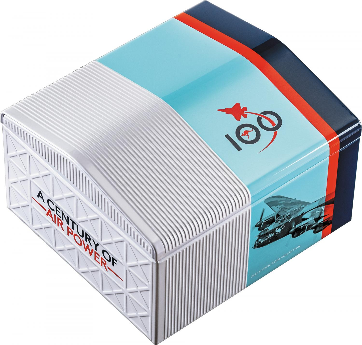 Thumbnail for 2021 Coloured 50 Cent Centenary of the Royal Australian Air Force - 11 Coin Collection