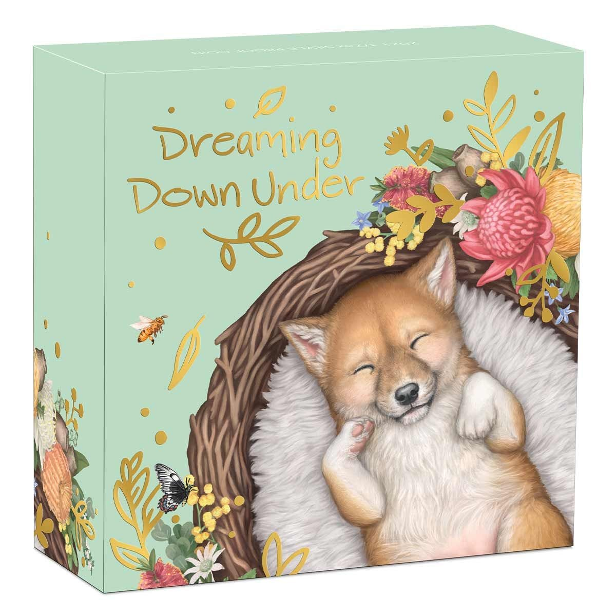 Thumbnail for 2021 Dreaming Down Under - Dingo Half oz Silver Proof Coin