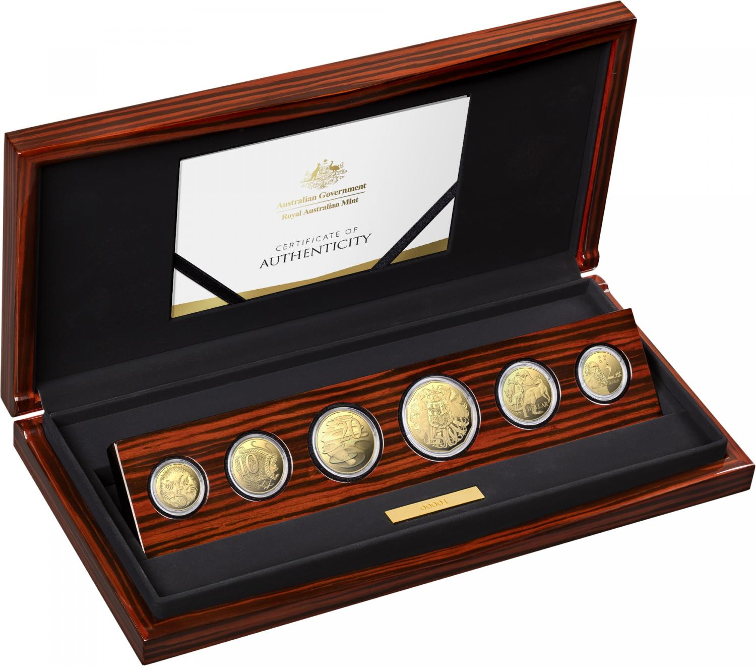 Thumbnail for 2021 Gold Proof Six Coin Year Set