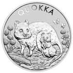 Thumbnail for 2021 Quokka 1oz Silver Perth  Mint Bullion Coin