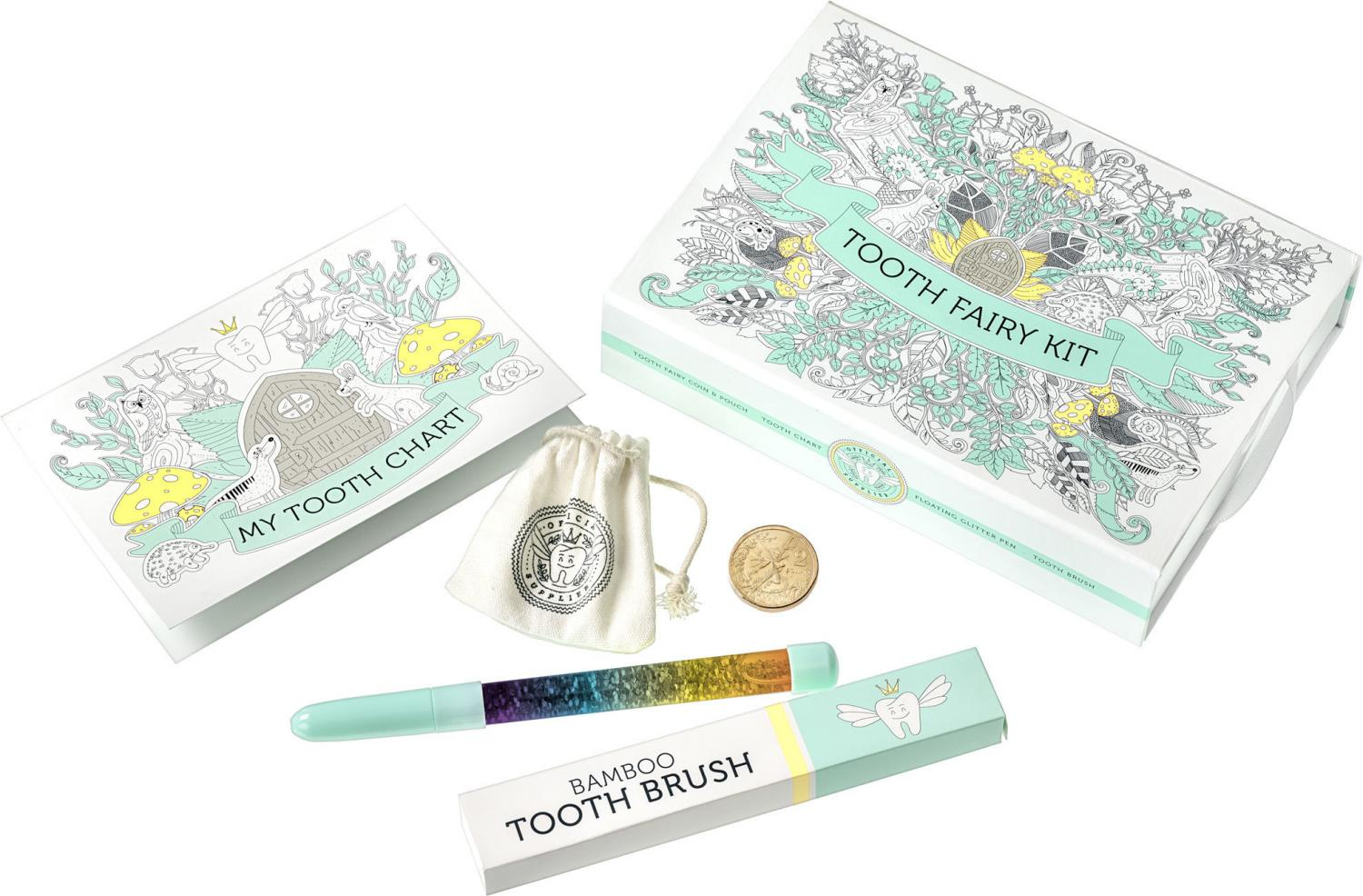 Thumbnail for 2021 Tooth Fairy Kit with Tooth Fairy $2 coin in bag
