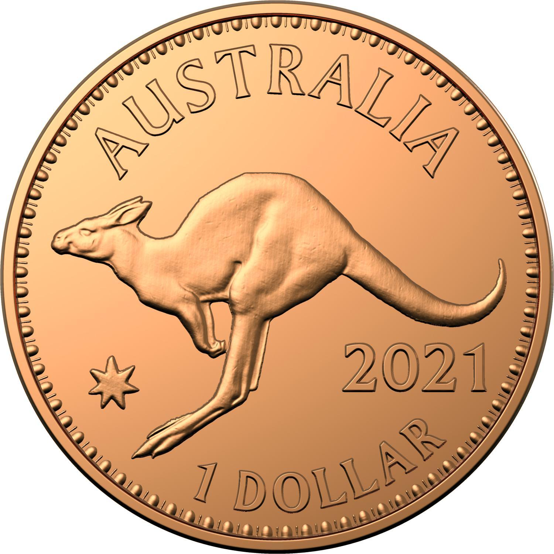 Thumbnail for 2021 $1 Australian Pennies 1911 - 1964 Copper UNC Two Coin Set