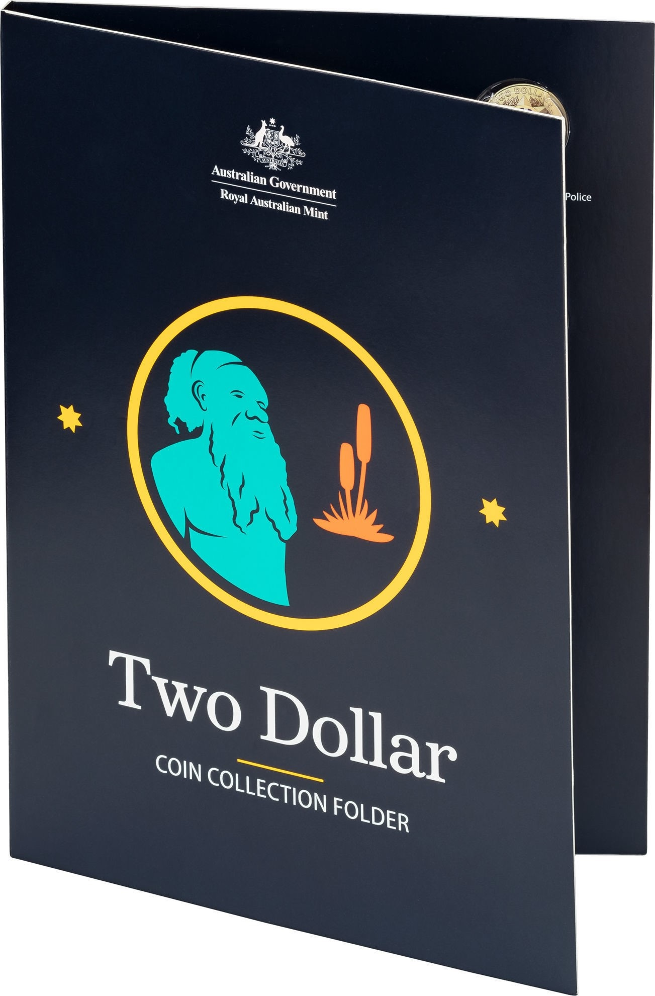 Thumbnail for 2021 $2 Circulating Coin Collection Folder as issued by Royal Australian Mint (no coins included)