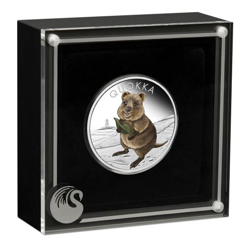 Thumbnail for 2021 Quokka 1oz Silver Proof Coin