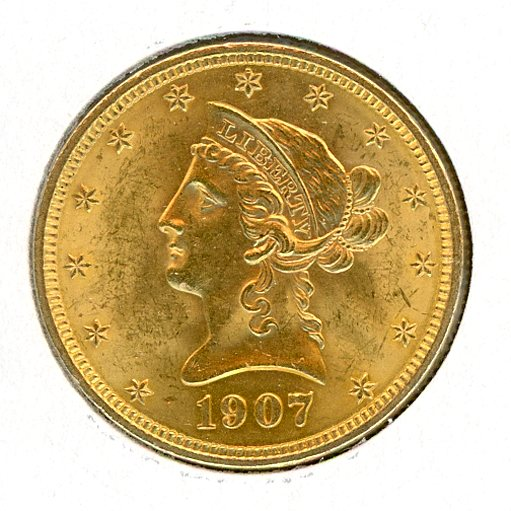 Thumbnail for 1907 Gold $10 Coin
