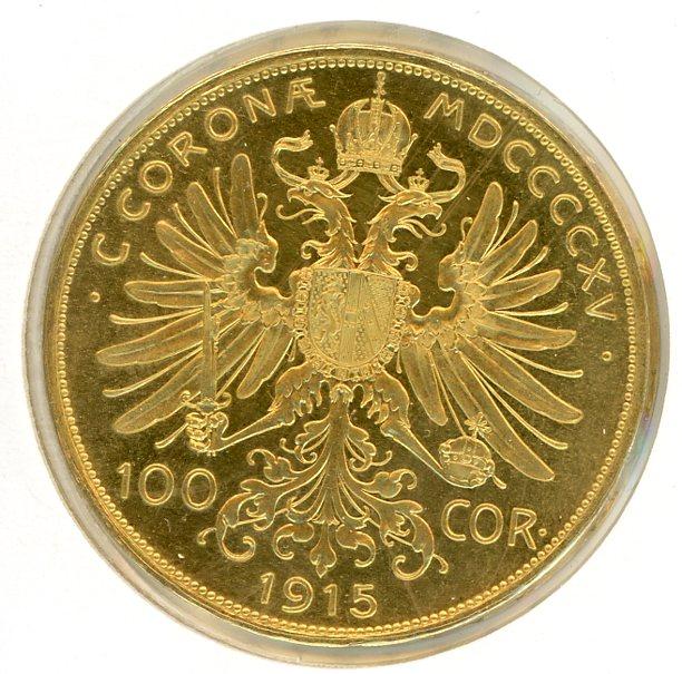 Thumbnail for 1915 Austria 100 Corona