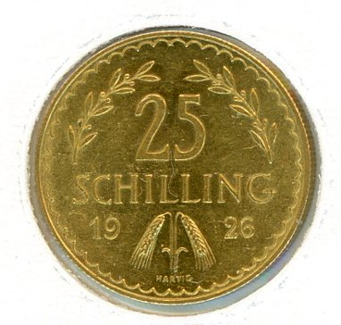 Thumbnail for 1926 Austria 25 Shilling