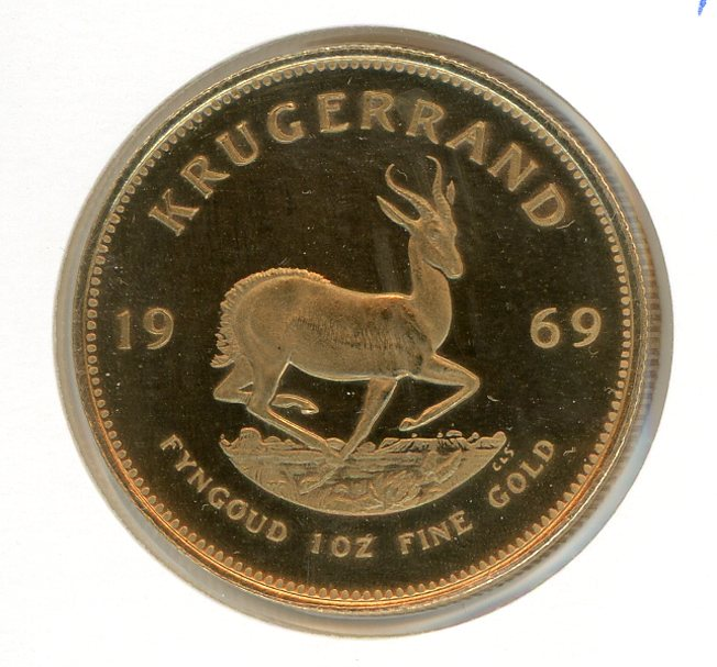 Thumbnail for 1969 South Africa Krugerrand