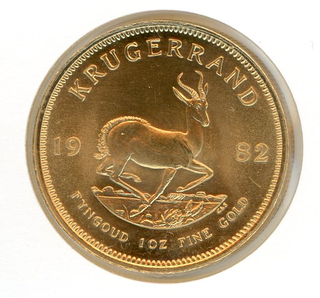 Thumbnail for 1982 South Africa Krugerrand