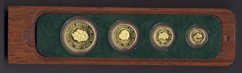Thumbnail for 1987 Australian Gold Nugget Proof Coin Set