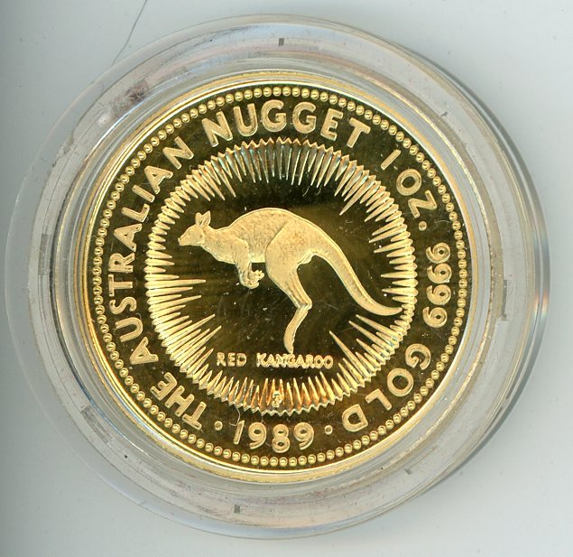 Thumbnail for 1989 1oz Proof  Kangaroo - Red Kangaroo