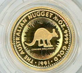 Thumbnail for 1991 One Twentieth oz Proof Common Wallaroo in Capsule