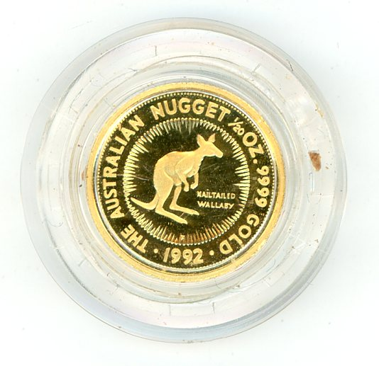 Thumbnail for 1992 One Twentieth oz Proof - Nailtailed Wallaby