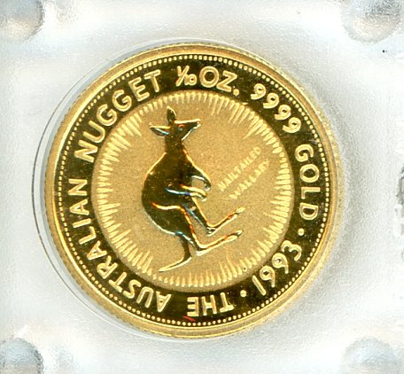 Thumbnail for 1993 One Tenth oz Nailtailed Wallaby