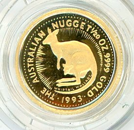 Thumbnail for 1993 One Twentieth oz Proof Whiptail Wallaby in Capsule