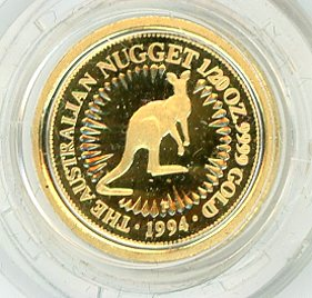 Thumbnail for 1994 One Twentieth oz Proof Kangaroo in Capsule