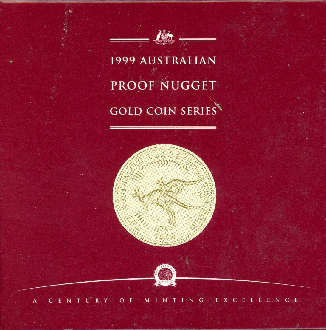 Thumbnail for 1999 One Tenth oz Australian Nugget Proof Coin