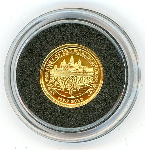 Thumbnail for 2001 Cambodia 1.224 Grams .999 3000 Riels - Angkor Wat