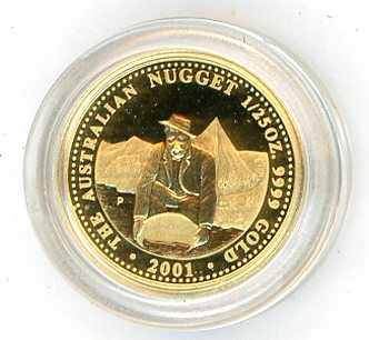 Thumbnail for 2001 One Twentififth oz Australian Prospector Series Proof