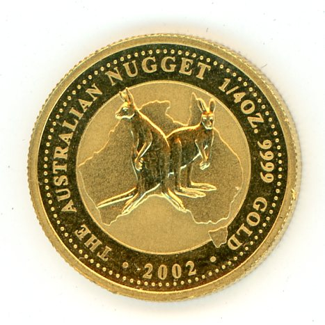 Thumbnail for 2002 One Quarter  oz Australian Kangaroo