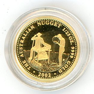 Thumbnail for 2002 One Twentififth oz Australian Prospector Series Proof
