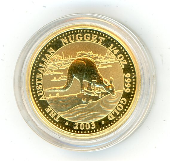 Thumbnail for 2003 One Quarter oz Australian Kangaroo