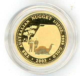 Thumbnail for 2003 One Twentififth oz Australian Prospector Series Proof