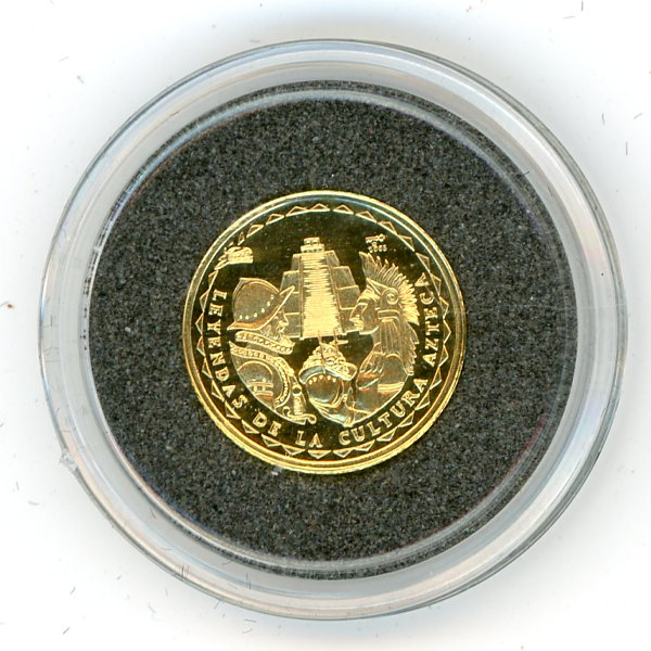 Thumbnail for 2005 Cuba 1.56 Gram .999 Five Pesos - Aztecs