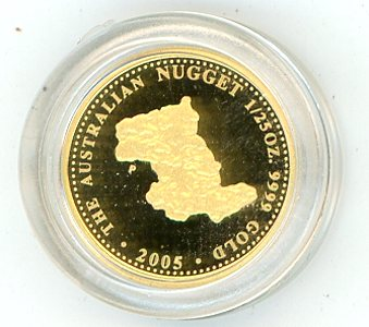 Thumbnail for 2005 One Twentififth oz Australian Prospector Series Proof