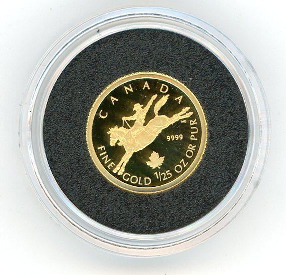 Thumbnail for 2006 Canada One Twentifith oz 50 Cent
