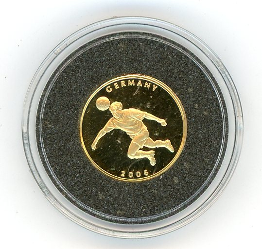 Thumbnail for 2006 Liberia 1.224gm $20 - FIFA Germany