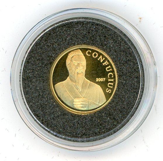 Thumbnail for 2007 Cambodia 1.56 Gram .999 5000 Riels - Confucius