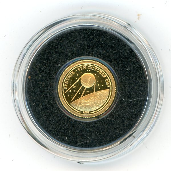 Thumbnail for 2007 Mongolia 0.5 Gram .999 500 Togrog - The Sputnik Program