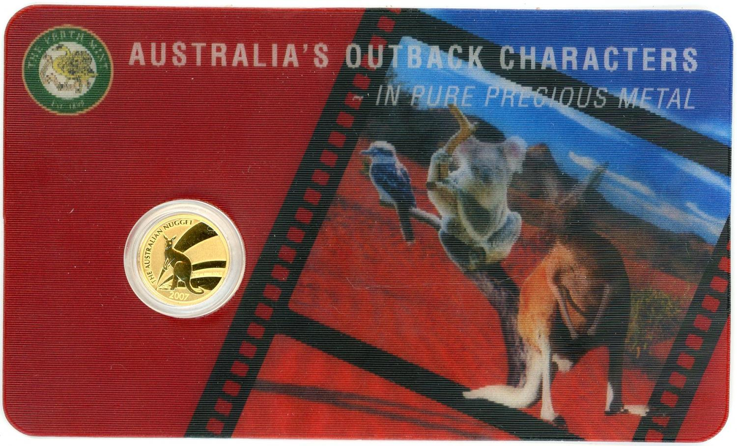 Thumbnail for 2007 One Twentieth oz Gold Kangaroo
