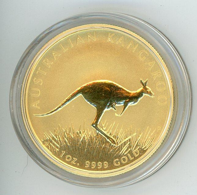 Thumbnail for 2008 1oz Specimen Kangaroo