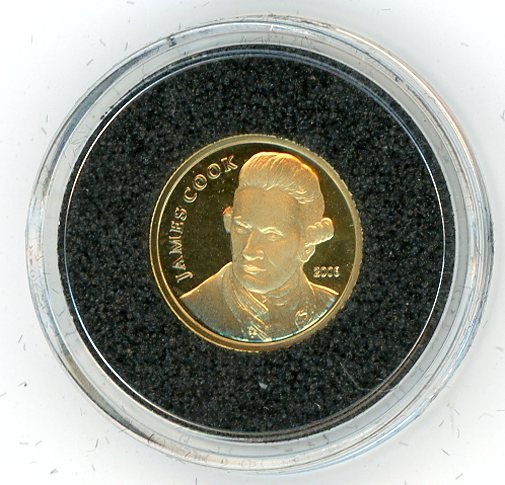 Thumbnail for 2008 Cook Islands 1.224 Grams .999 Ten Dollars - Captain James Cook