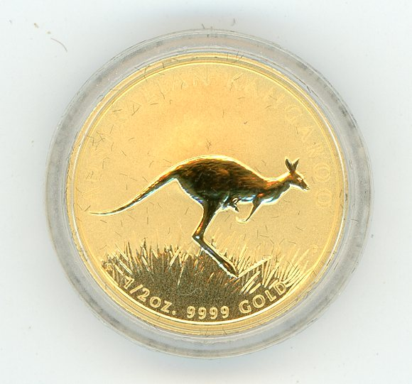Thumbnail for 2008 Half oz Gold Kangaroo