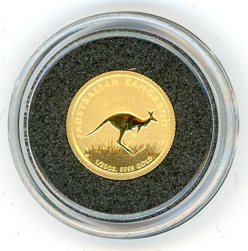 Thumbnail for 2008 One Twentieth oz Kangaroo In Capsule