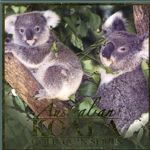 Thumbnail for 2008 One Twentyfifth oz Gold Proof Coin - Koala