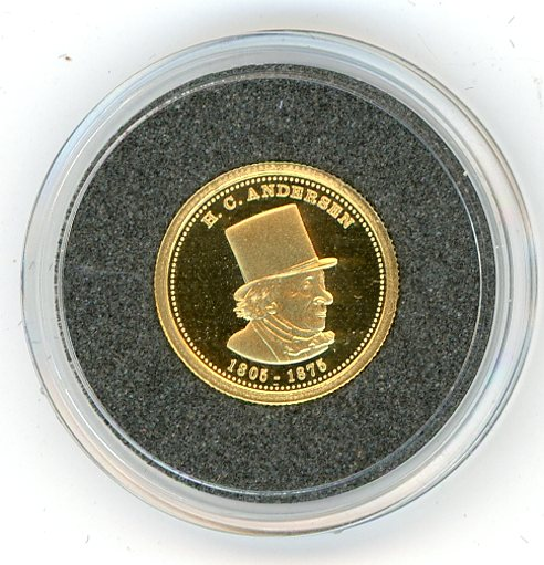 Thumbnail for 2008 Samoa One Twentififth oz .999 Ten Dollars - Hans Christian Anderson