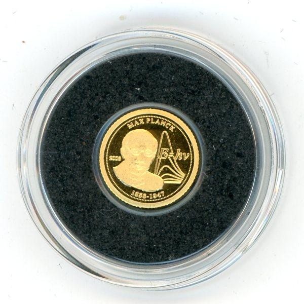 Thumbnail for 2008 Togolaise 0.5 Gram  .999 1500 Francs - Max Planck