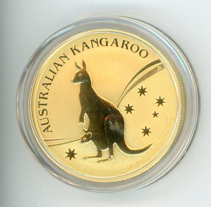 Thumbnail for 2009 1oz Specimen Kangaroo