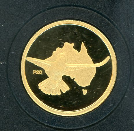 Thumbnail for 2009 Australian One Twentieth oz Gold Proof Kookaburra - 2002 Design